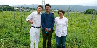 ワイン畑・醸造研修